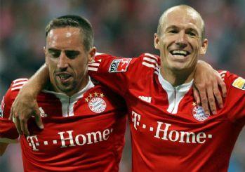 Robben ve Ribery Beşiktaş maçına yedek başlayacak