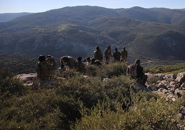 Afrin kırsalındaki Kel Tepe'de şiddetli çatışma: 'Can kayıpları ve yaralılar var'