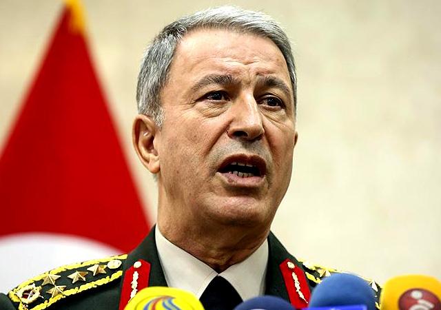 Akar: Afrin'de sadece PKK değil DEAŞ da temizleniyor