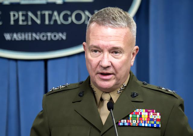 Pentagon'dan flaş açıklama: Menbiç'e sevkiyat yaptık