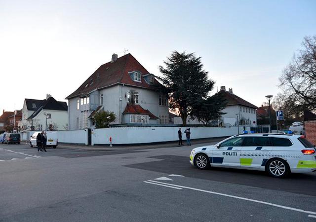 Türkiye'nin Danimarka Büyükelçiliği'ne molotoflu saldırı