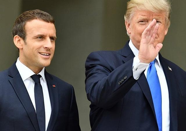 Trump'tan Macron'a Türkiye tavsiyesi