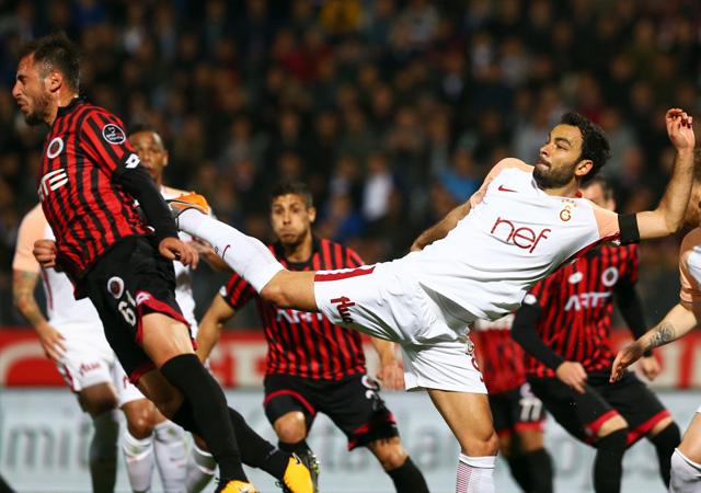 Gençlerbirliği-Galatasaray maçı geniş özeti ve sonucu