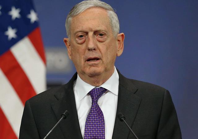 Mattis: Suriye'deki iç savaşı Cenevre süreciyle bitirmeye bağlıyız