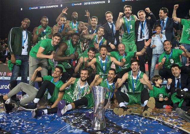 Daçka EuroCup şampiyonu oldu