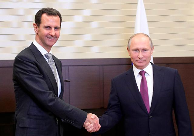 Esad'ın morali yerinde