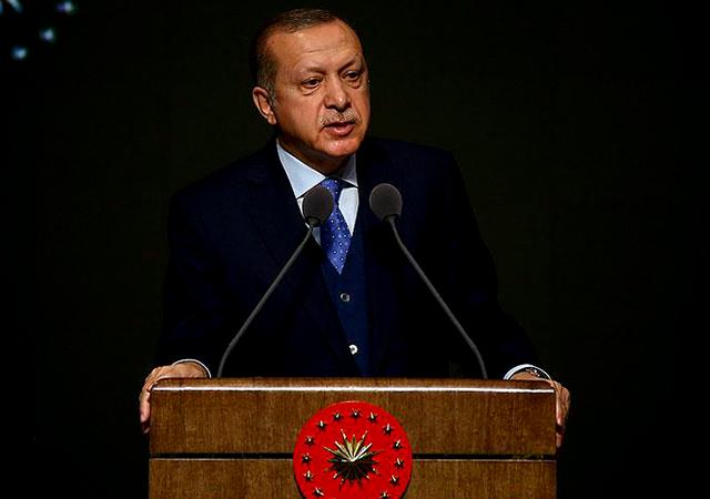 Cumhurbaşkanı Erdoğan: Gel vur burayı ondan sonra barış de. Olmaz olsun böyle barış
