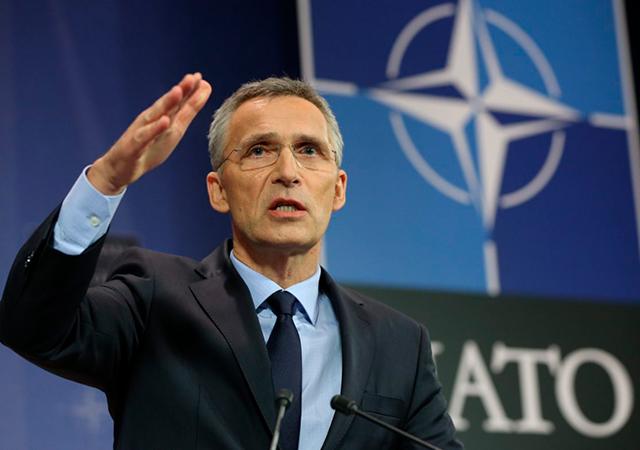 NATO Genel Sekreteri Stoltenberg: Türkiye'nin operasyona desteği de memnuniyet verici