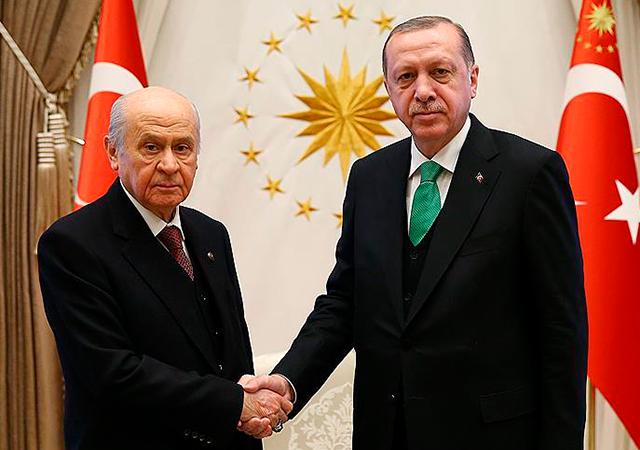 Erdoğan MHP Lideri Bahçeli'yle yarın görüşecek