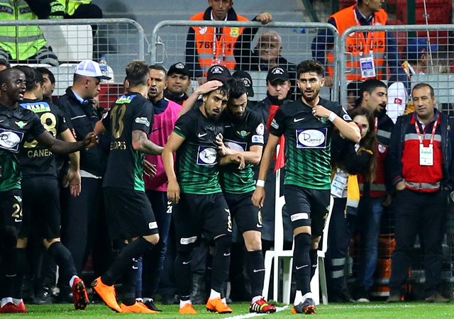 Türkiye Kupası şampiyonu Akhisarspor