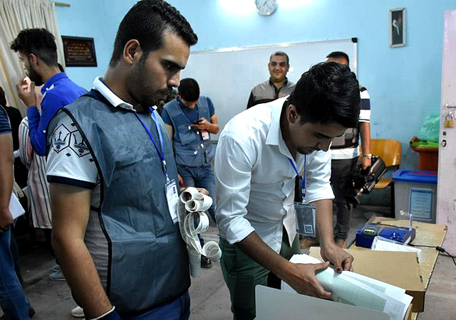 Irak'ta sandıklar kapandı, seçim sistemi hacklendi