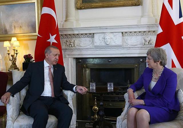 Erdoğan ve May'den ortak açıklama: İsrail'deki şiddeti kınıyoruz