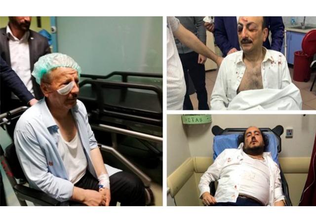 Saadet Partili ve MHP'lilerin arasında kavga!