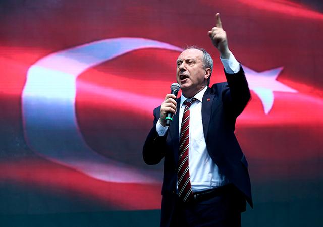 Erdoğan'ın 'Mitinginde HDP'liler Vardı' eleştirisine İnce'den yanıt: AK Partililer de vardı