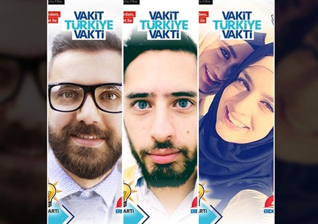 Türkiye'de bir ilk! AK Parti, Snapchat üzerinden kampanya gerçekleştirdi
