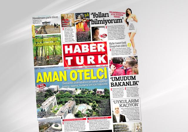 Habertürk gazetesi kapanıyor!