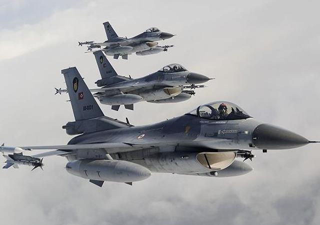 Irak'ın kuzeyine hava harekatı: 28 hedef imha edildi