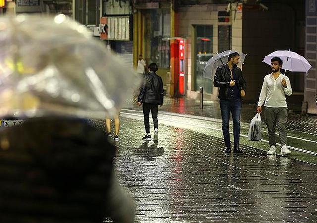 Meteoroloji uyardı! Marmara'da sağanak yağış