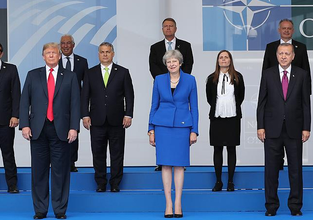 Erdoğan NATO Zirvesi'nde!