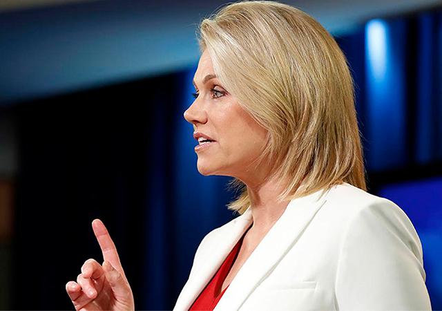 ABD Sözcüsü Heather Nauert: Müzakere süreci devam ediyor