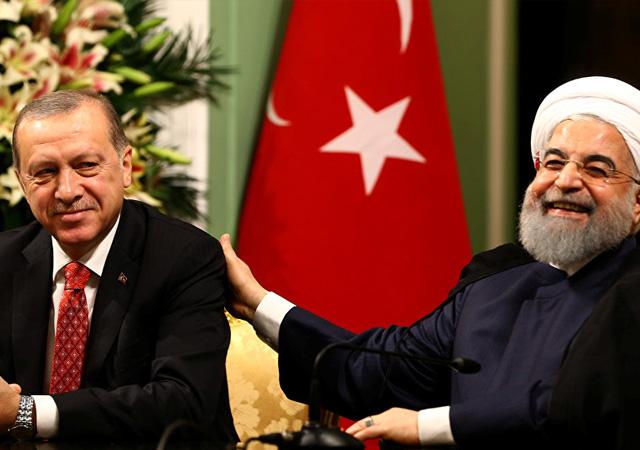 Ruhani'den Erdoğan'a 'Trump'ı pişman edeceğiz' mesajı