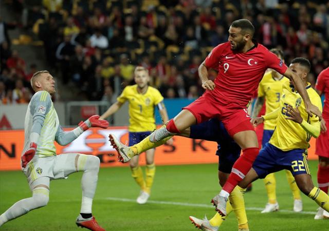 İsveç-Türkiye maçı golleri ve geniş özeti