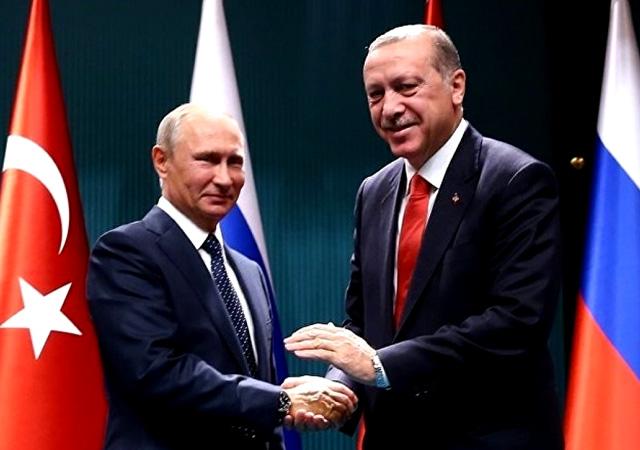Erdoğan ve Putin Rusya'da görüşecek