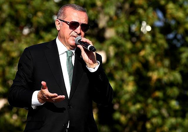 Erdoğan: Münbiç'te gelin bizi gömün diyorlar