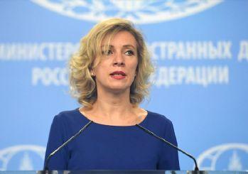 Zaharova: Suriye ordusunun Doğu Guta'yı rastgele vurduğu iddiaları asılsız