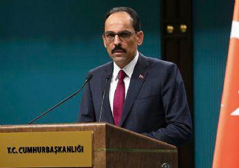 Cumhurbaşkanlığı Sözcüsü Kalın: Afrin'in yüzde 70'inde güvenlik sağlandı