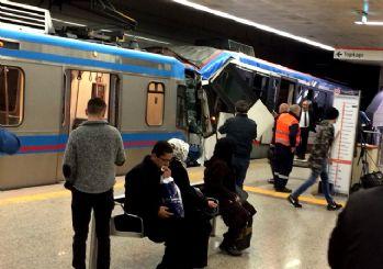 İstanbul'da tramvaylar çarpıştı! İşte ilk görüntüler...