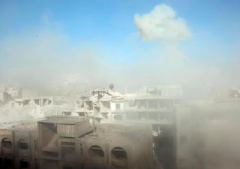 Doğu Guta'da pazar yerine hava saldırısı