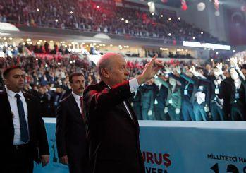 MHP'de Devlet Bahçeli yeniden Genel Başkan seçildi