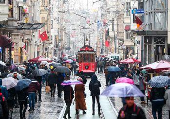 İstanbul'da Çarşamba gününe kadar güneş yok