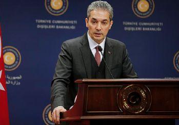 Dışişleri Bakanlığı Sözcüsü Aksoy'dan BAE'ye 'tehdit' yanıtı