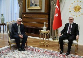 Erdoğan, Alman mevkidaşı Steinmeier ile telefonda görüştü