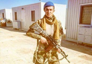 Afrin'de şehit düşen Antalyalı şehidin paylaşımı