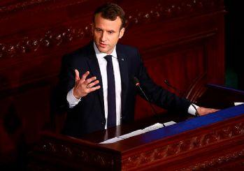 Macron'dan Afrin operasyonuyla ilgili açıklamalar