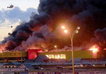 Rusya'da AVM yangını: 37 ölü
