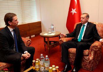 Avusturya Başbakanı Kurz:Türkiye ile AB arasındaki üyelik görüşmelerini sona erdirilmeli
