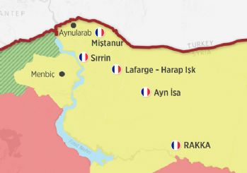 Fransa'nın Suriye'deki askeri üsleri deşifre oldu!