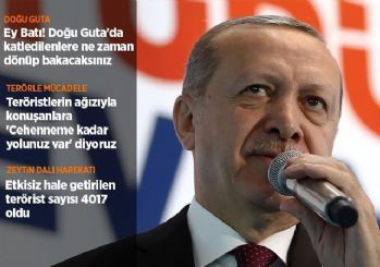 Cumhurbaşkanı Erdoğan: 2019 bir milat yılı olacak