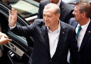 Erdoğan: Putin ve Trump ile yaptığım görüşmeler Suriye içerikliydi