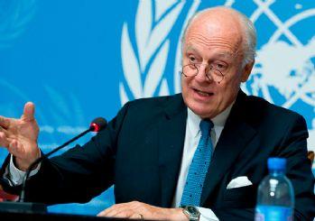 BM Suriye Özel Temsilcisi Mistura Türkiye'de