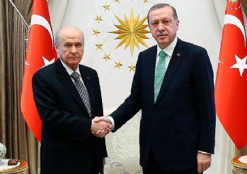 Erdoğan-Bahçeli erken seçim zirvesi başladı