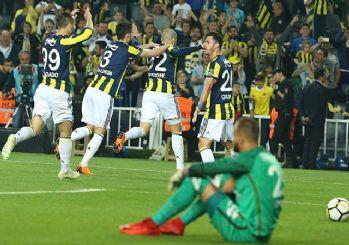 Fenerbahçe evinde Antalyaspor'u yendi! 4-1