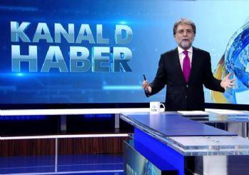 Ahmet Hakan Kanal D Ana Haber'e veda etti