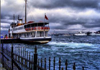 İstanbul'da, sis sebebiyle vapur seferleri iptal