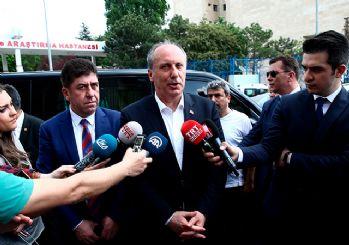 İnce ile Erdoğan görüşmesi başladı!