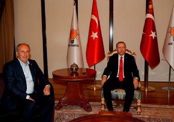 İnce ile Erdoğan'ın görüşmesi sona erdi
